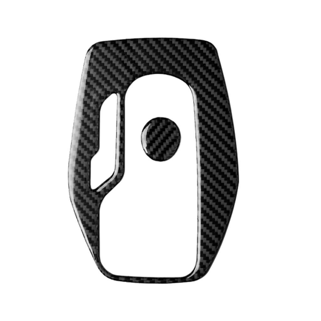 Carbon Fiber Inner Gear Panel Cover Trim For Chevrolet Camaro 2017-2019