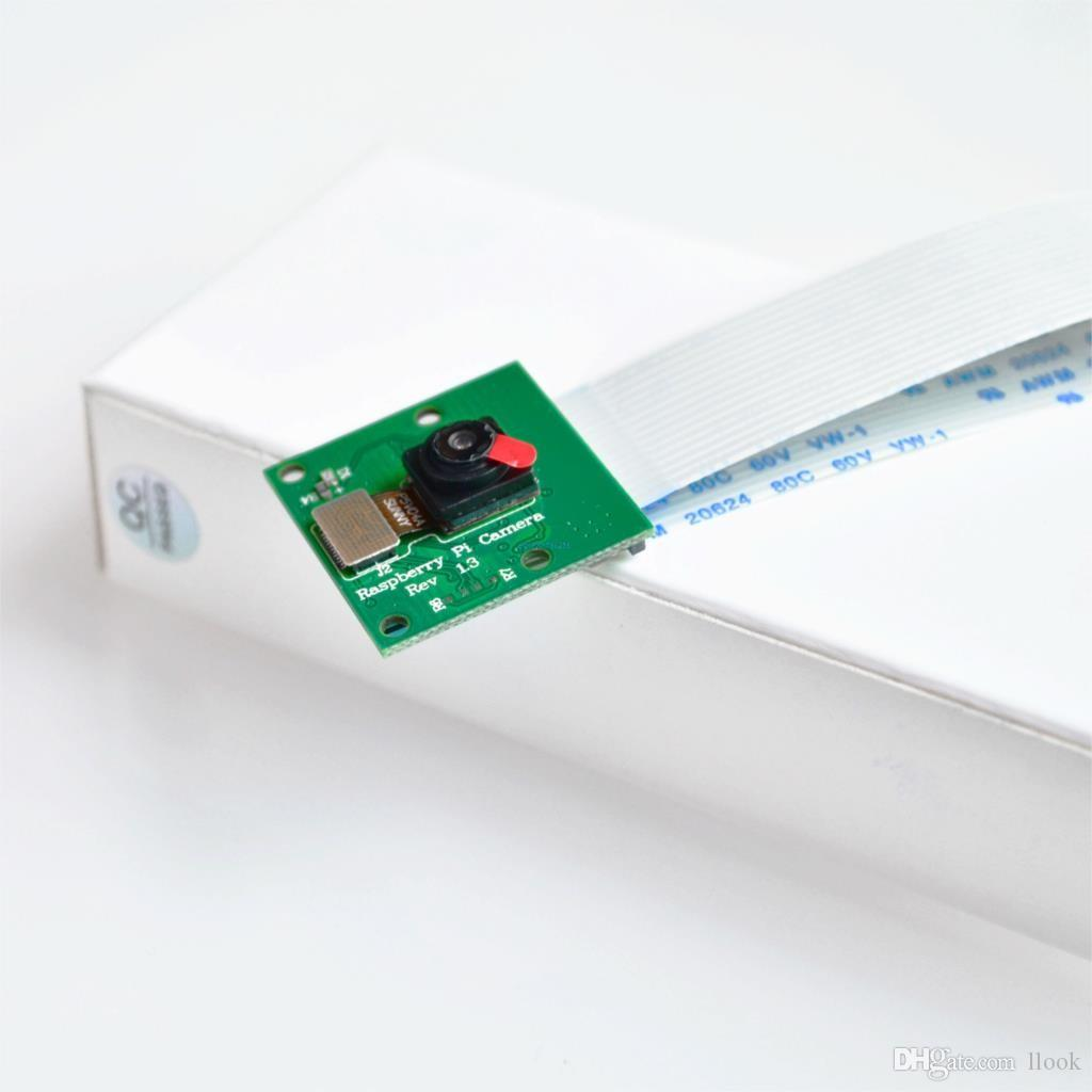 Freeshipping 10pcs / lot Raspberry Pi 3 Modell B + Kamera-Modul 1080p 720p Mini-Kamera 5MP Webcam-Videokamera kompatibel