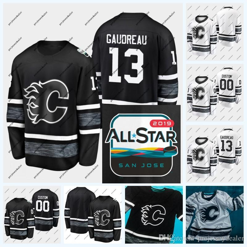 2020 18 James Neal Calgary Flames 2019 All Star Game Johnny Gaudreau Sean Monahan Mark Giordano Mikael Backlund Matthew Tkachuk Jersey From Projerseydealer 21 32 Dhgate Com