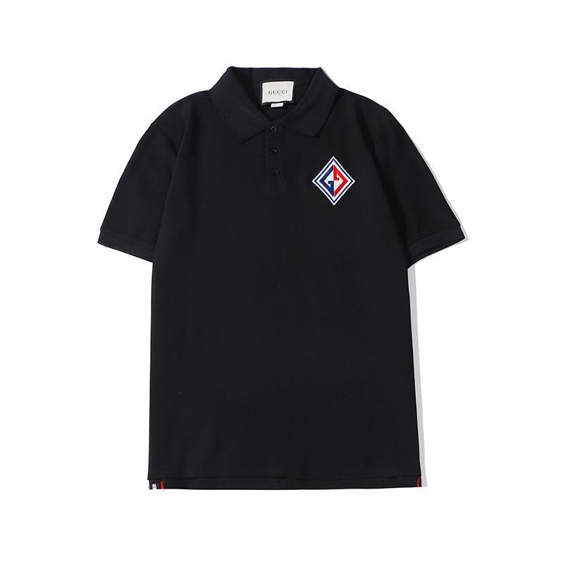 Hot imprimé géométrique Hommes Brandshirts designershirts luxe des femmes des hommes T-shirts d'été à manches courtes T Mode casual T-shirts A1 2021906V