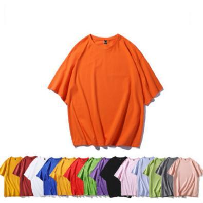 Мужчины Женщины Дизайнерские футболки лето мода сплошной цвет тройники Mens люкс Шорты рукава Свободные футболки Касула Топы Горячие Продажа