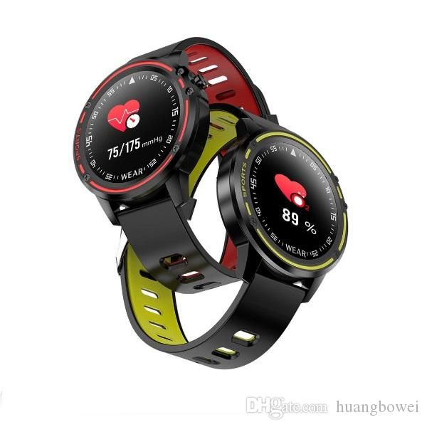 L8 Smart Watch IP68 wasserdicht Smartwatch Muliti-Sport-Mann-Smart-Uhren EKG PPG Blutdruck Herzfrequenz-Armband