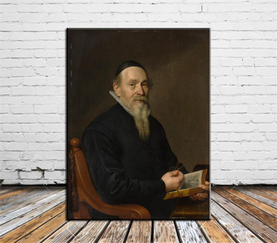 David Bailly, Tela Pittura Pittura Soggiorno decorazione domestica moderna murale a olio di arte