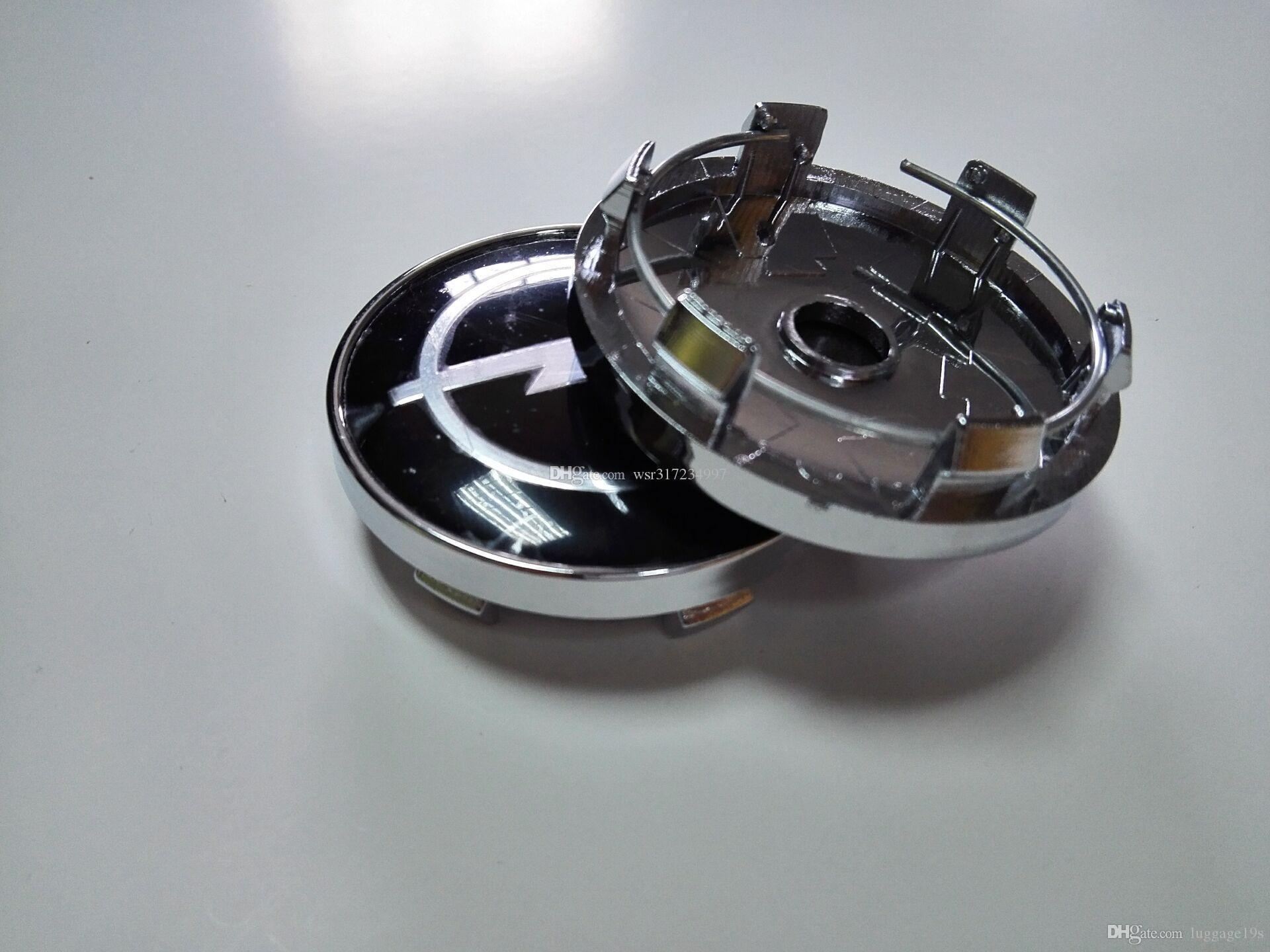 Car Styling 100Pcs * 60MM del centro di rotella delle protezioni di mozzo auto emblema distintivo marchio per BMW / VW / OPEL / MAZDA / Lexus / Volvo / Toyota / H / KIA / OZ Racing Ecc # 91S