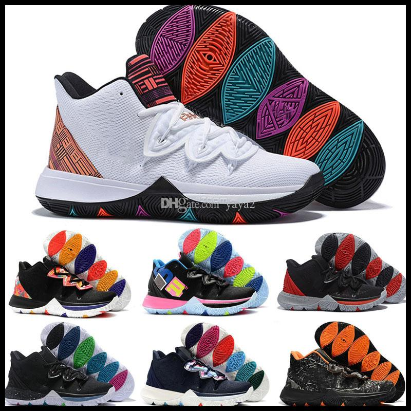 2019 Kyrie V Designer 5S Mamba Mentalità Mens bambini scarpe da basket have a nice day Concetti x 5 Ikhet Chaussure Sport Sneakers