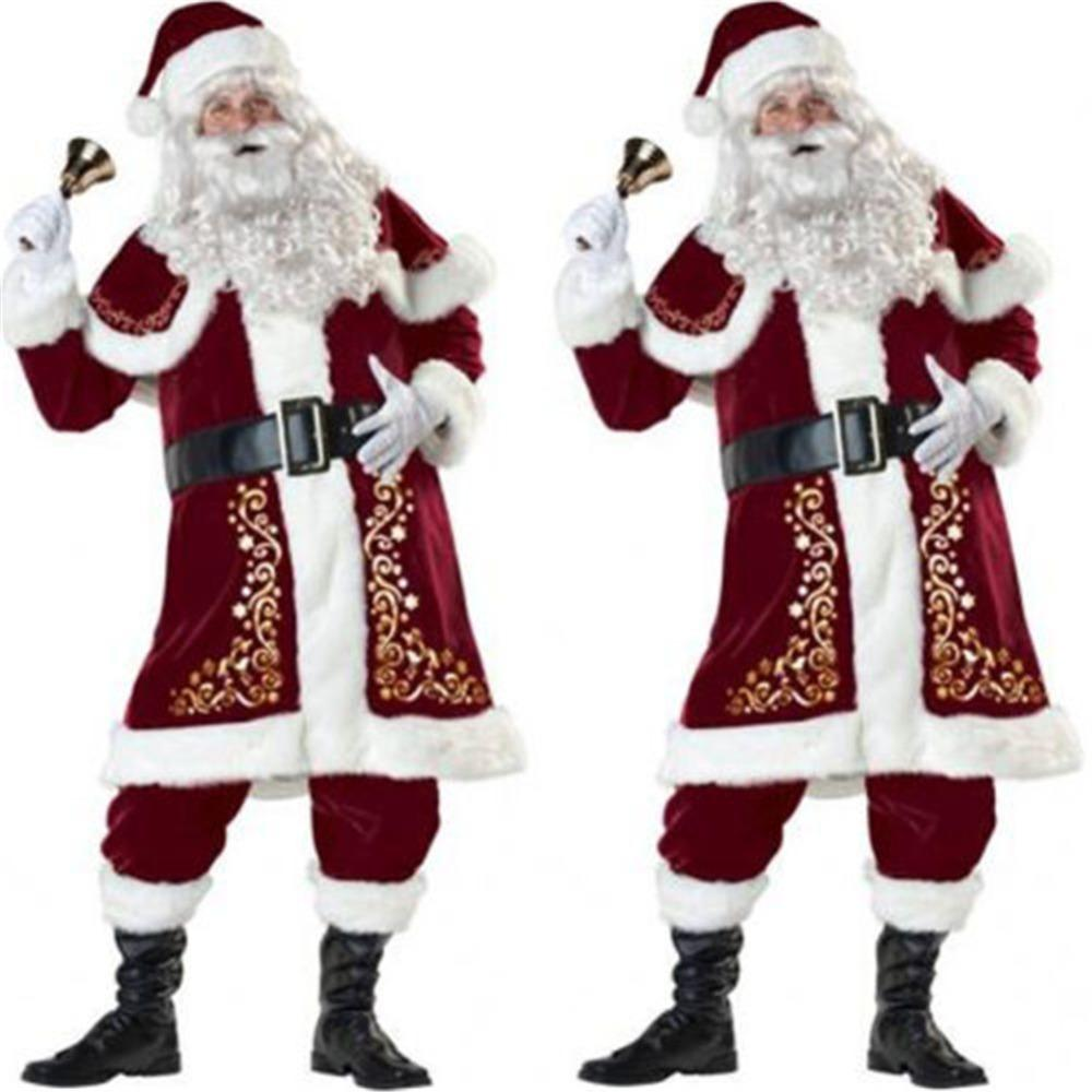 Deluxe Santa Belt Christmas A Number Of Fancy Dress Looks Parties Costume Access