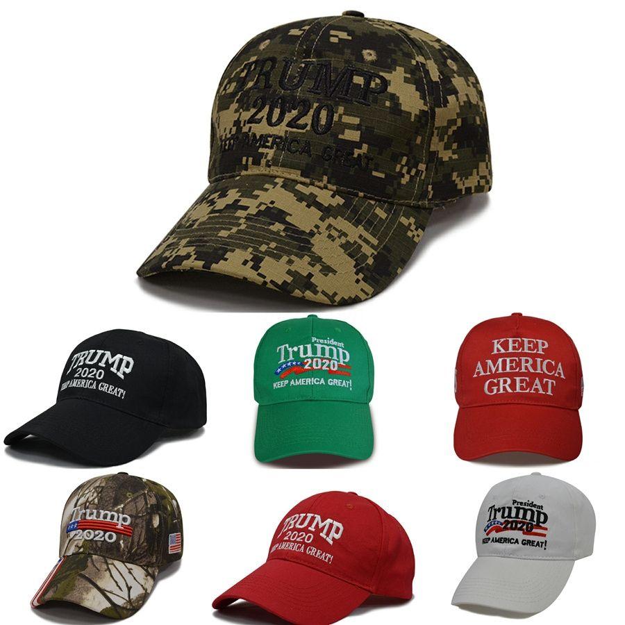 Donald Trump Cap 12 gli stili di rendere l'America Great Again Baseball Cap Trump 2020 cappello esterno Summer Party Hats Ooa6848 # 263