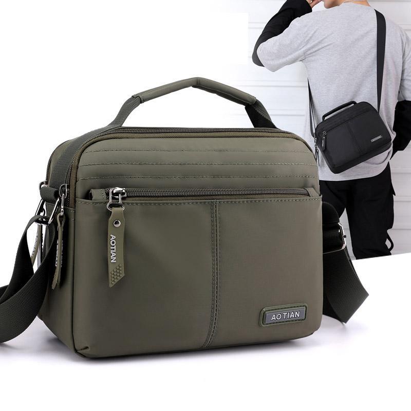 Viaggi uomini borsa casuale spalla sacchetto impermeabile del telefono sacchetto esterno maschile Borsello 2020 nuovo ragazzo multifunzionale zaino