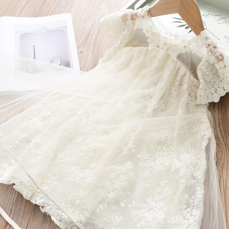 2020 filles style Corée robe robes de princesse de filles d'été de la mode 2-7 ans HO822