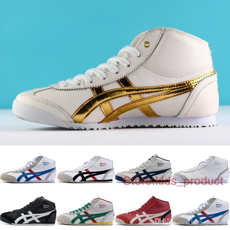 onitsuka tiger mexico 66 shoes online original womens gold
