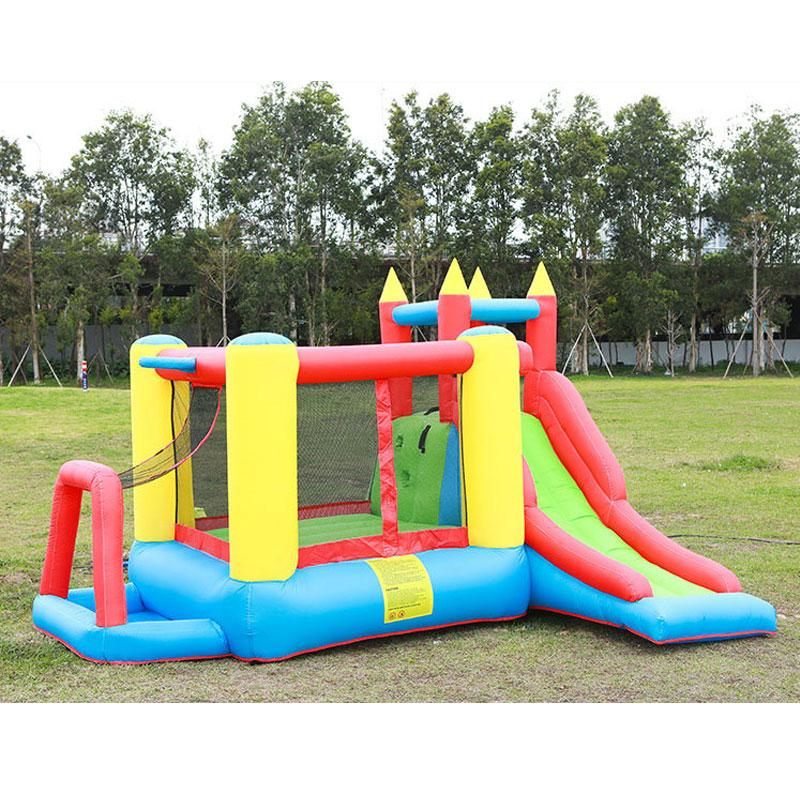 Inflatable Bounce House Slide with Air Blower for Kids Game Giant Inflatable Combo Jumping Bouncy Castle