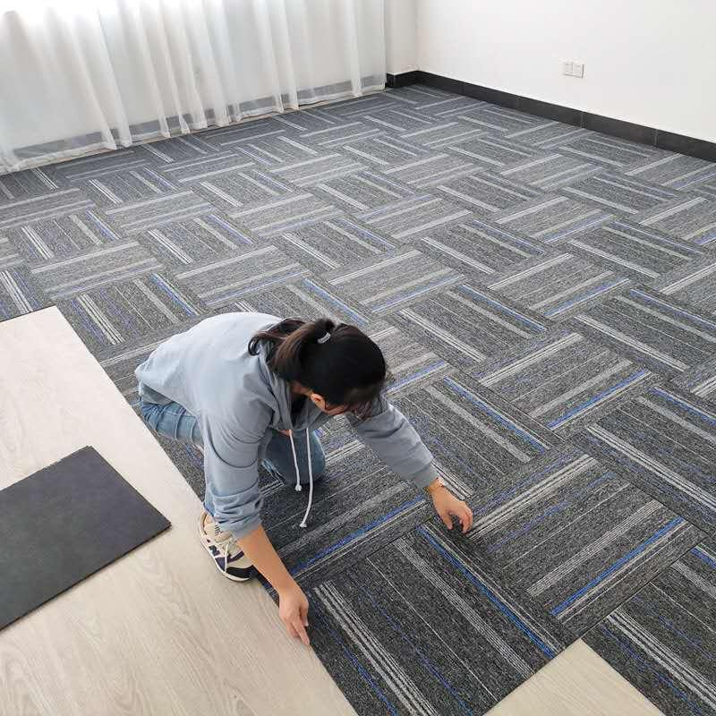 Office Carpets Stitching Square Bedroom Full Room Living Room Home Company Floor Mat Commercial Office Building Carpets Pvc Bottom Back Vinyl Carpet Plush Carpet Tiles From Amtf553536 12 27 Dhgate Com