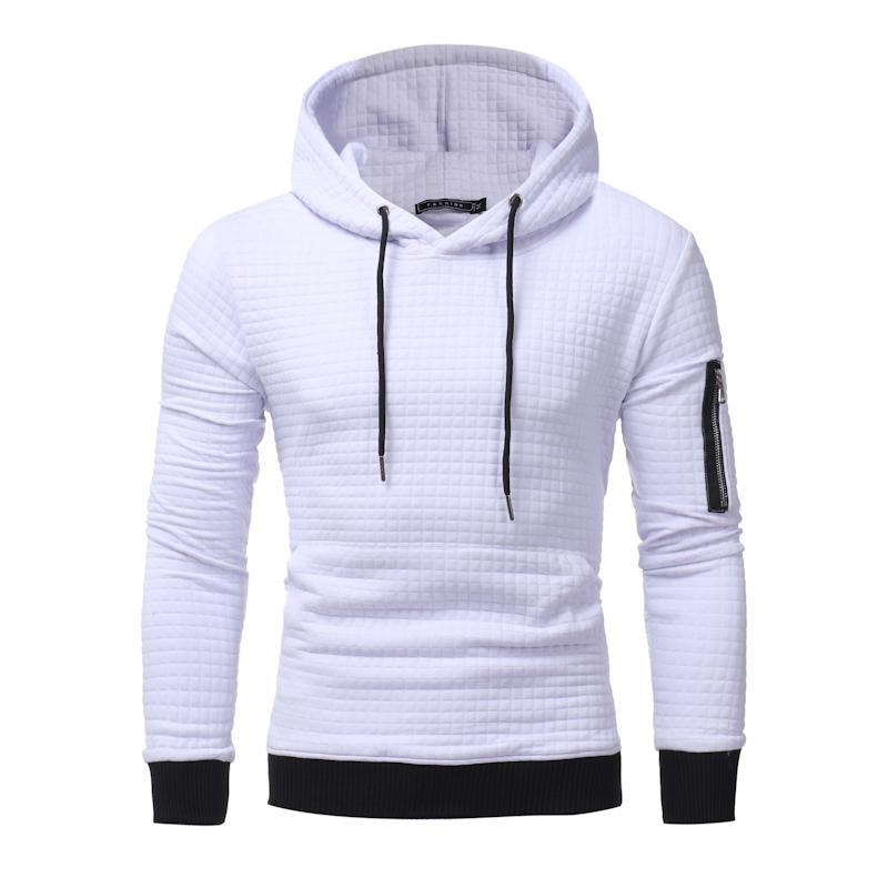 4 Renkler Erkek Kapüşonlular Yeni İleri Teknoloji Casual Hoodie Erkekler'S Moda Benzersiz Kore Stili Uzun Kollu Sweatshirt M-3XL