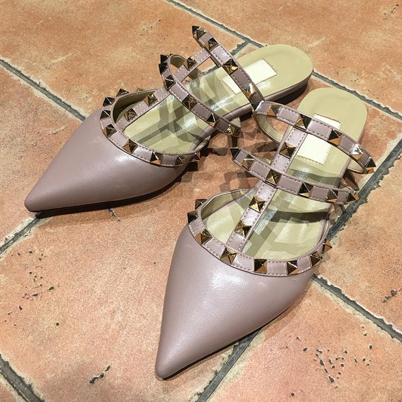 Hot Sale New Belt Designer Flat Shoes