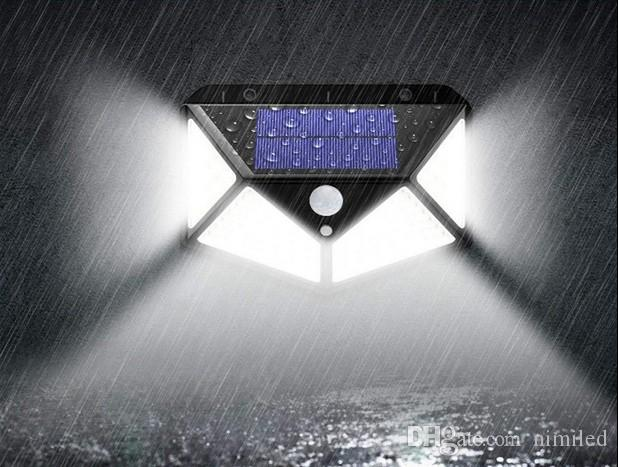 3 Model 100LED PIR Motion Sensor Light Outdoor Solar Power Wall Lamps Home Garden Yard Security Street Light Led Night Light LLFA
