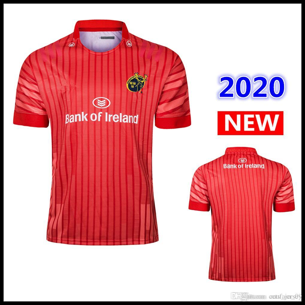 2020 MUNSTER casa longe Rugby Jersey ALTERNATIVAS JERSEY Muenster City Super Rugby Jerseys League camisa s-3xl