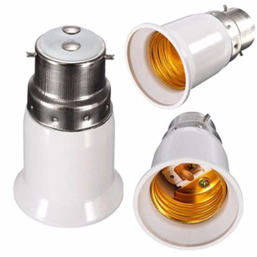 Lâmpada LED Bulb Titular conversão de bases Converter B22 a E27 soquete adaptador conversor Luz Adapter Suporte da lâmpada de iluminação Parts