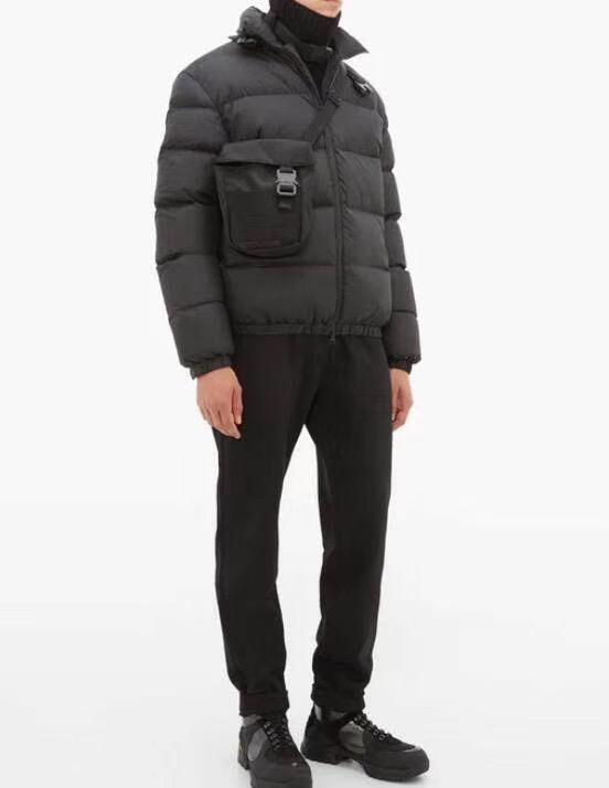 2020 Новый стиль 1017 Аликс 9SM крест плеча Tactical Bag Женщины Мужчины Мужская Креста тела Холст сумка сумки Мужчины