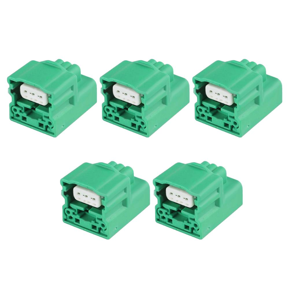 5 Sets 3 Pin sheathed car waterproof connector plastic case with terminal DJ7036B-1.2-21