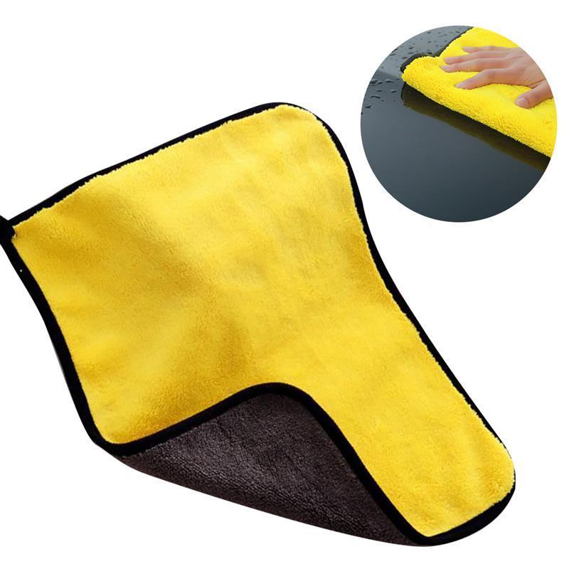 coxeer Küchenreinigungstuch Tuch verdicken Mehrzweck Auto-Reinigungs-Tuch Fenster saubere Handtuch Home Textile