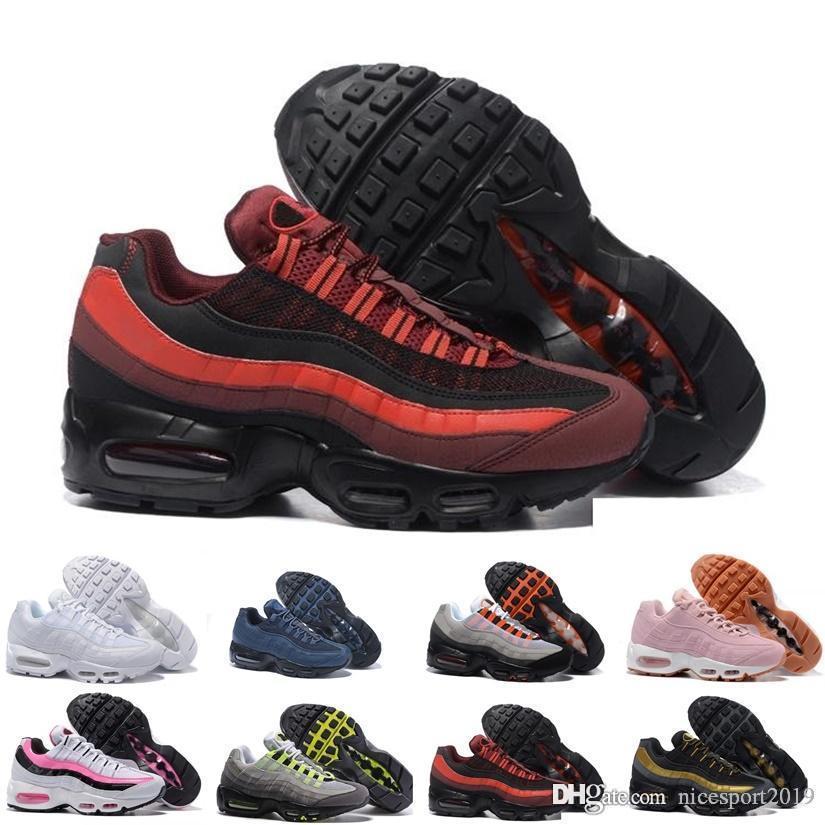 2020 Scarpe recenti TN plus corsa a uomo Mens Triple Black Red Champagne scarpa d'oro formatori Sneakers Chaussure TN Outdoor Sports 40-45