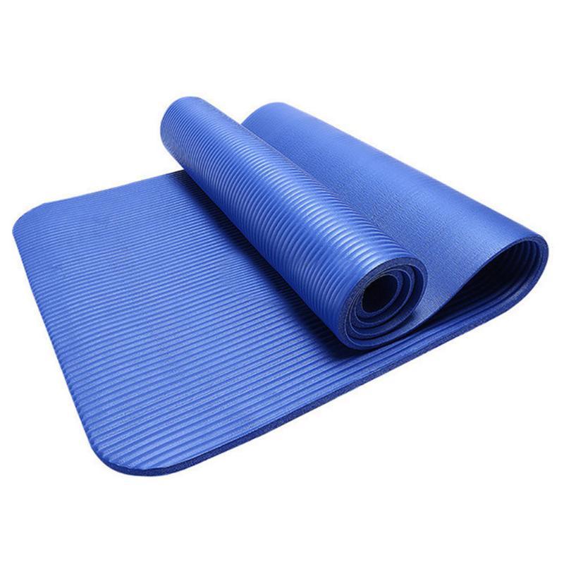 Fitness ekipmanları 15MM kalın dayanıklı Yoga Mat Kaymaz egzersiz spor ped Mat kaybetmek ağırlık spor ekipmanları 1.8 M Yoga D8