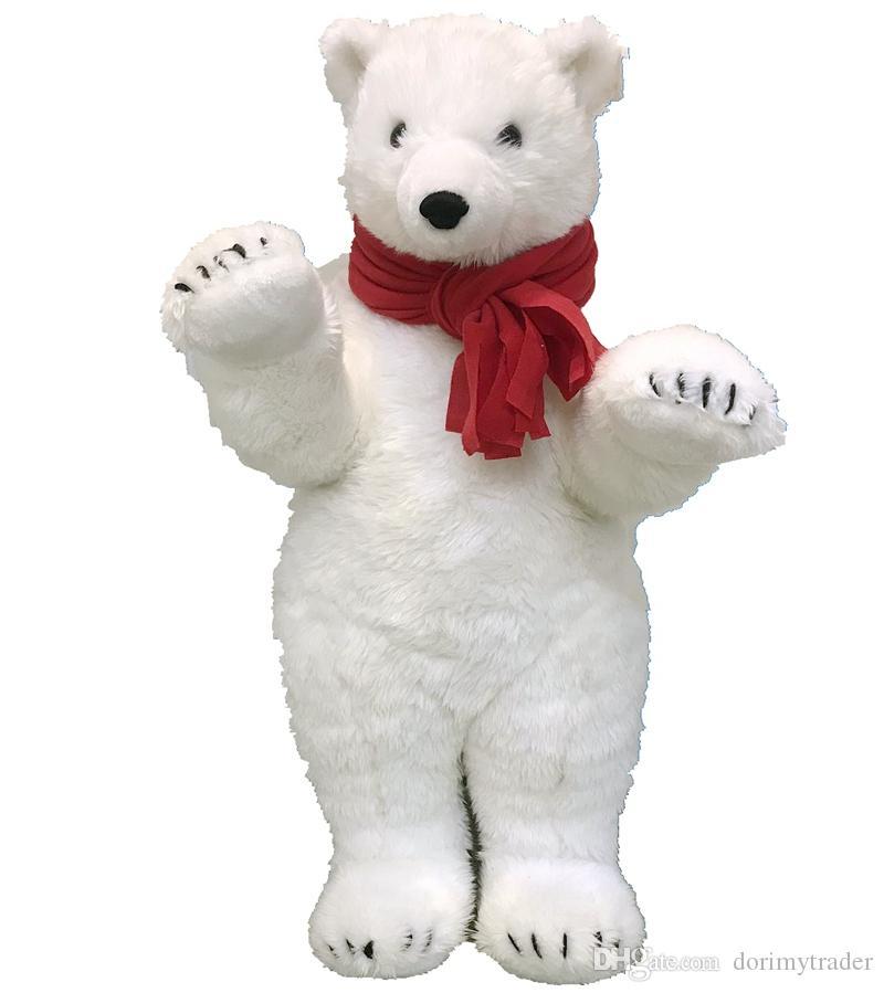 White bear Polars bear nursery Cute soft bear Soft white bear collectible bear lovers Bear as a gift Polar bear decor Decor Halloween