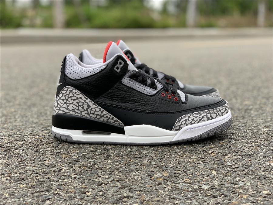 Yeni Erkekler 3S Basketbol Ayakkabı 3 OG Siyah Çimento Tasarımcı Lüks Eğitmenler Spor Ayakkabıları Spor Üst Kalite Sneakers ile Kutusu