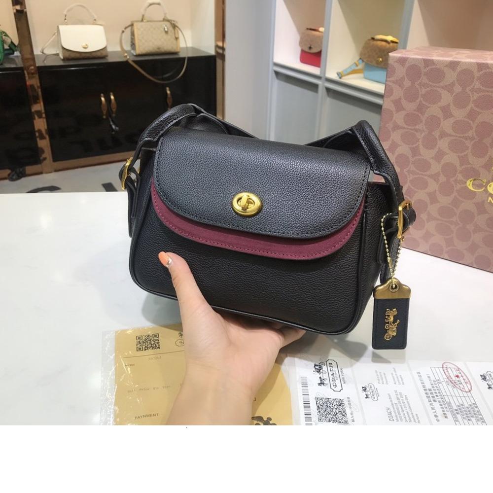 Bayan çanta yüksek kaliteli omuz çanta boyutu 20 * 15 * 9cm Nefis hediye kutusu WSJ010 # 112552 ming62 ming62