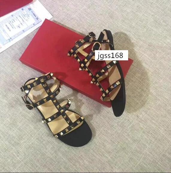 sandalias de uñas nuevas Corea del sauce todo alrededor de los zapatos con picos puntiagudos de Baotou sandalias de la muchacha de tamaño 35
