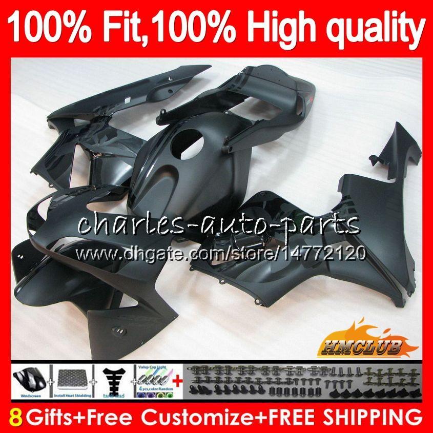 OEM Injection für HONDA CBR600 RR CBR 600RR CBR600RR 03 04 81HC.29 Schädel schwarz CBR600F5 2003 2004 CBR 600 RR F5 600F5 03 04 Verkleidungs 100% Fit
