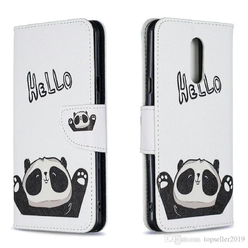 Pour LG STYLO 5 Stand Conception Portefeuille Coloré Étui En Cuir Téléphone Sac Couverture Avec Etui pour Téléphone et Titulaire de La Carte B077
