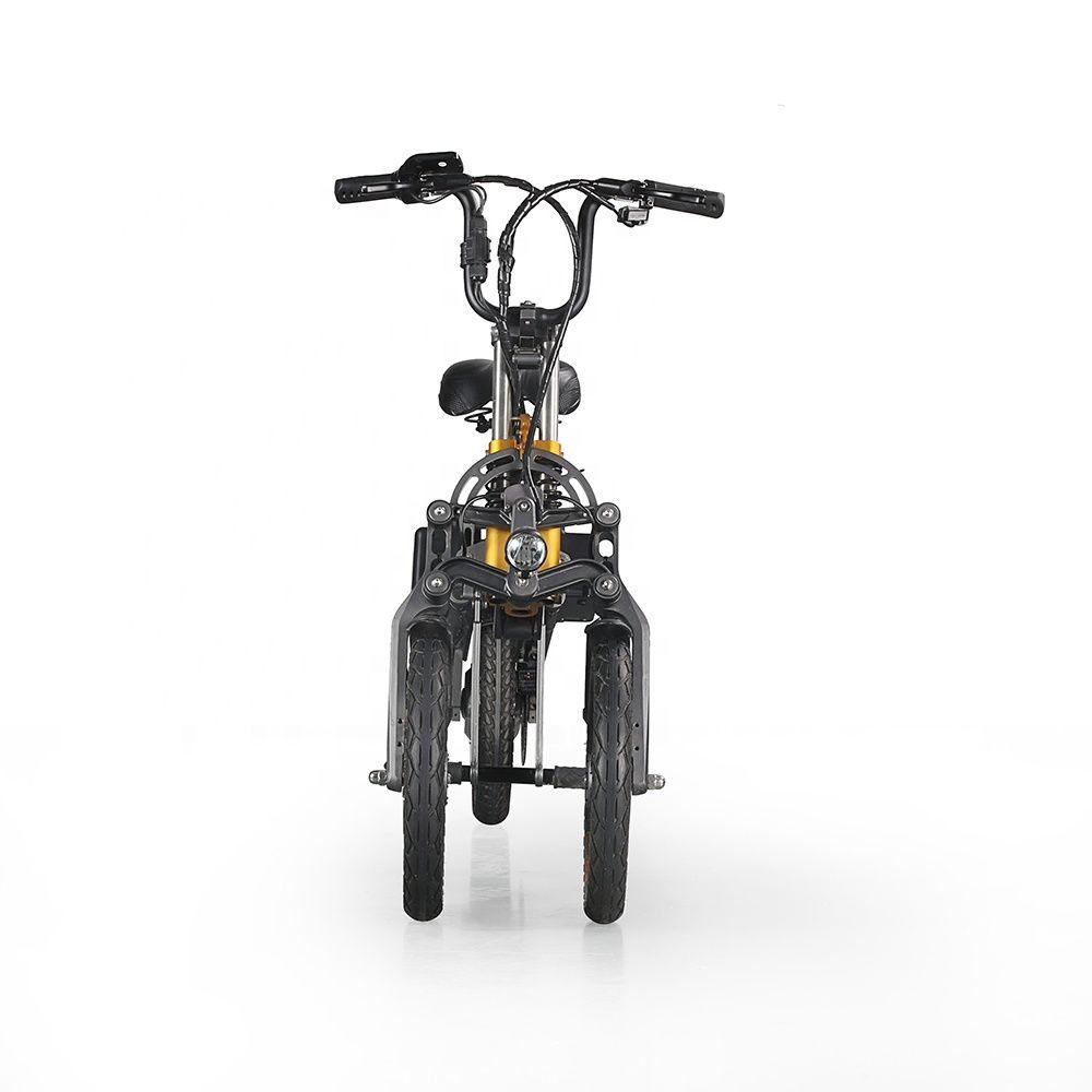 La energía verde bicicleta plegable eléctrica scooter eléctrico bicicleta bici de e