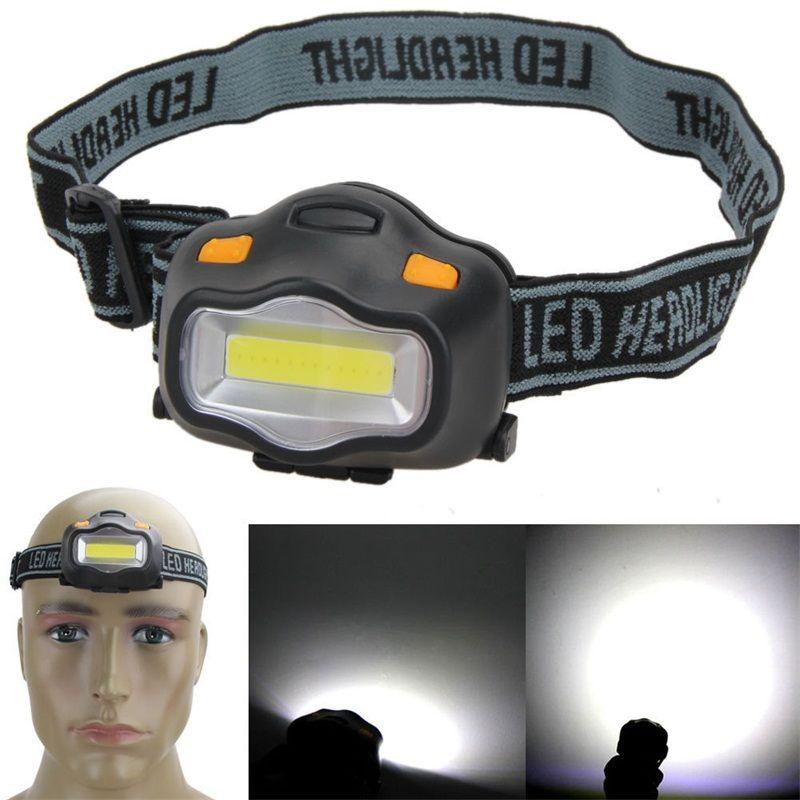Mountain Climbing Hiking Headlight Waterproof 3W Fishing Camping Outdoor Portable Bright Head Lamp Button Switch White Light 4 5qtD1