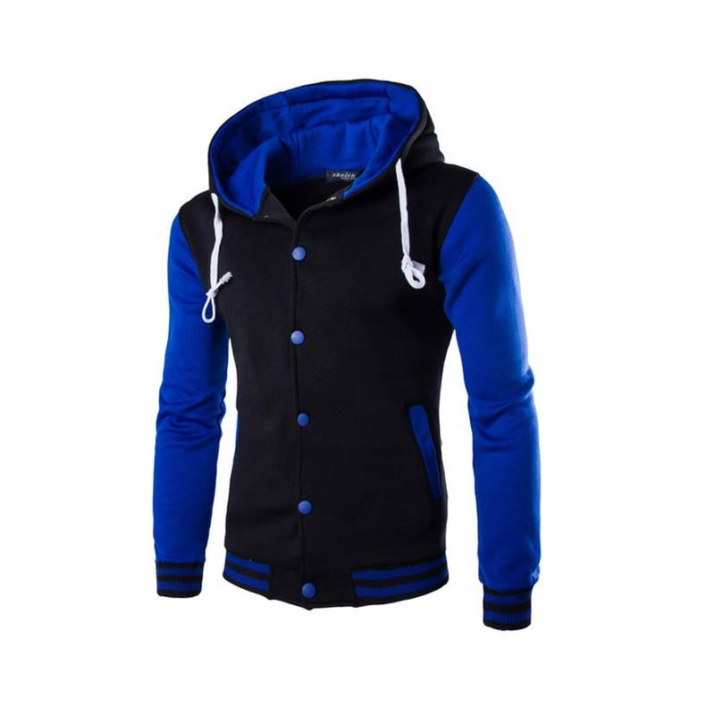 New Men/Boy Baseball Jacket Men 2017 Fashion Design Wine Red Mens Slim Fit College Varsity Jacket Men Brand Stylish Veste Homme