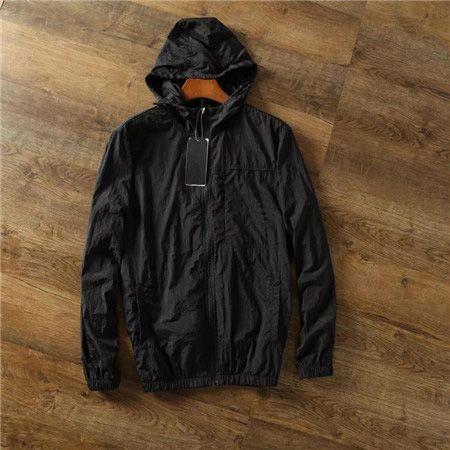Outono Inverno Mens da forma das mulheres Outwear Jakcets Sport Jacket partes superiores altas dos retalhos casacos Casual Windbreaker M-2XL B100101Q