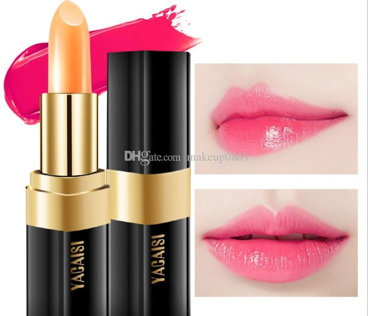 Color makeup yacai red cherry lipstick moisture carotene lipstick moisture discoloration lipstick discoloration makeup