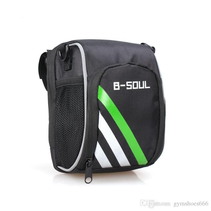 Mountain Bicycle Bike Front Bag Outdoor Cycling Riding Bags Can Be Used for Diagonal Backpack or Pockets Convenient #312005