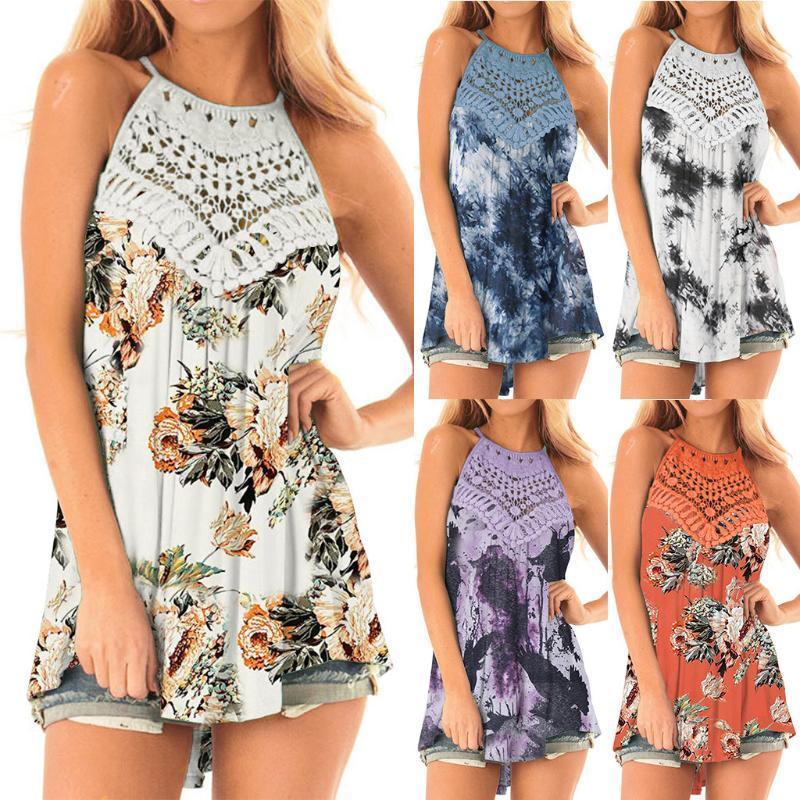 Tie-Dye Printed Shirt Blouse Summer Short Sleeve Women Tops Sweatshirt Elegant Spring O Neck Shirts Streetwear Mujer#0522g30