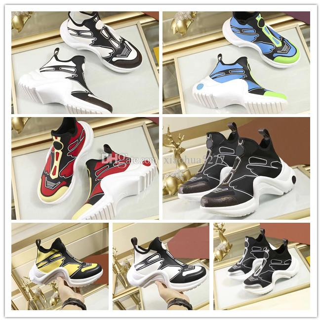 concepteur de qualité supérieure Mode femme Chaussures Casual femme Chaussures de sport Chaussures de jogging Plateforme Gao Bang Sneakers size35-42 Avec boîte