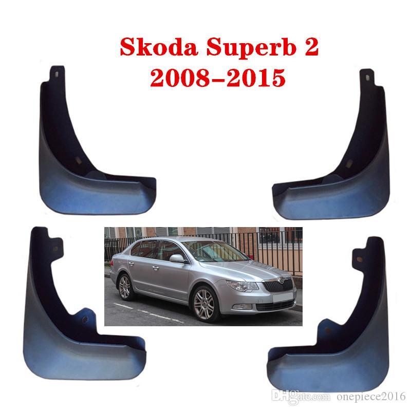 Автомобильные брызговики Брызговики Mud Flap Брызговики Fender для Skoda Superb 2 2008-2015 Car Styling аксессуары