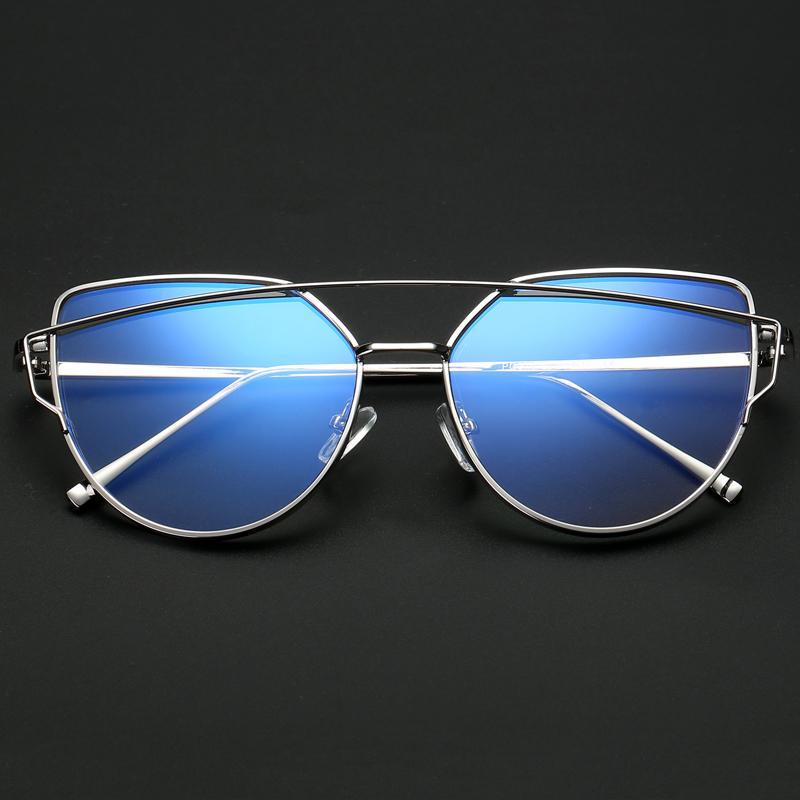 Atacado-Quadro do ouro Polygon metal Óculos Limpar Lens Falso vidros desproporcionados Spectacle Óculos Frames Para Mulheres Homens Oculos De Gr
