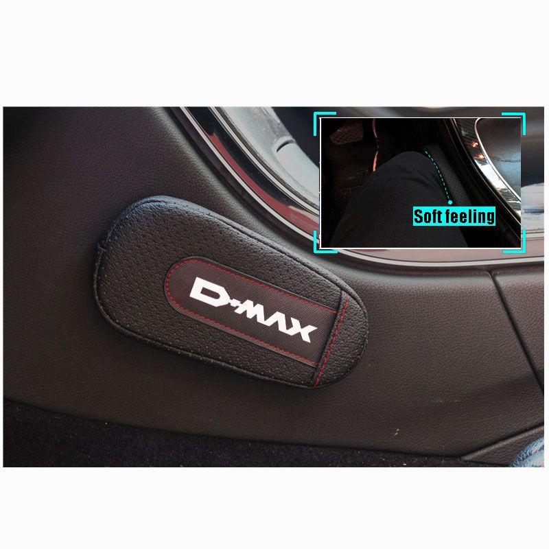 Стильная и удобная подушка для ног наколенник подлокотник pad интерьер автомобильные аксессуары для Isuzu Dmax