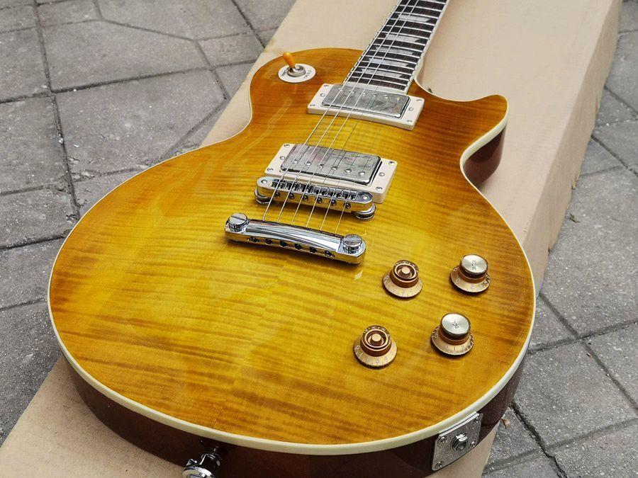 Гэри Мур гитара, лимон Выброс, пользовательские гитары