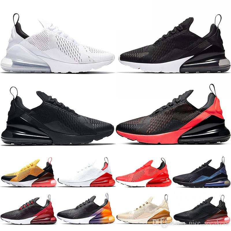 Men Women Running Shoes Mens Trainers Triple Black White Bred Oreo Photo Blue Habanero Red Trainer Sport Sneakers Size 5.5-11