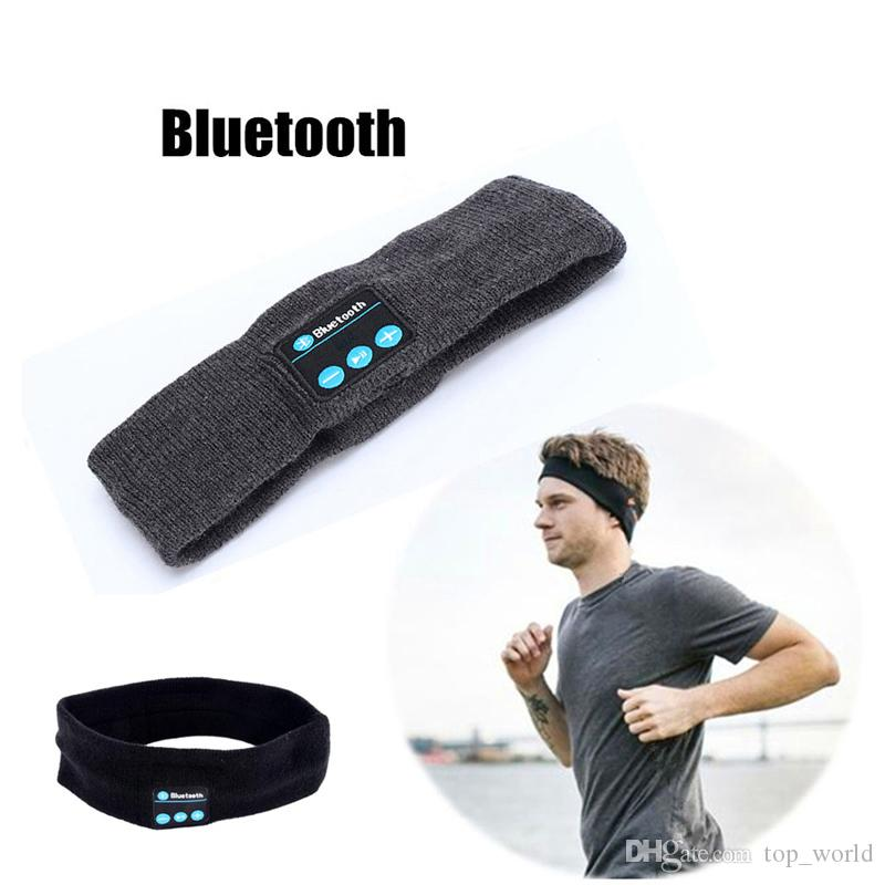 Z3 Wireless Bluetooth Headphone Sleep Music Headband Hat Soft Warm Sports Running Earphone With Microphone Handfree For Smartphones