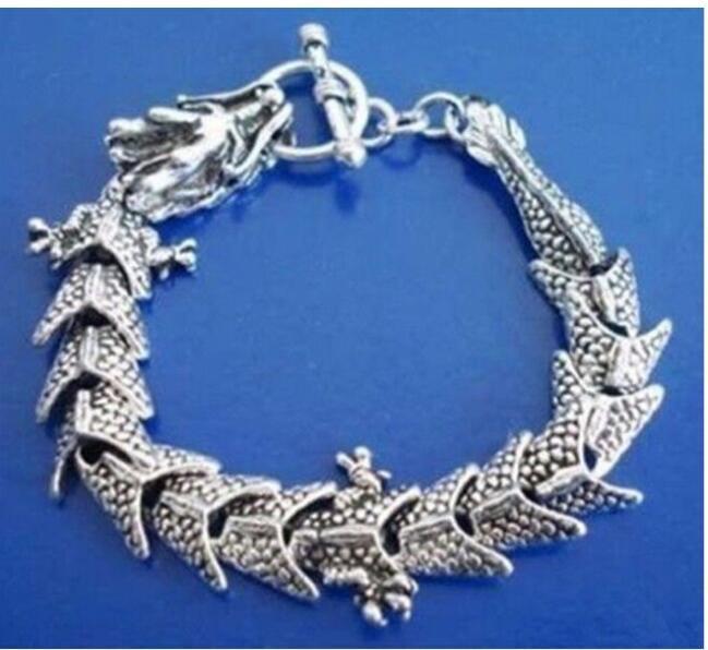 Quente! ! Jóias Wonderful pulseira de dragão chinês