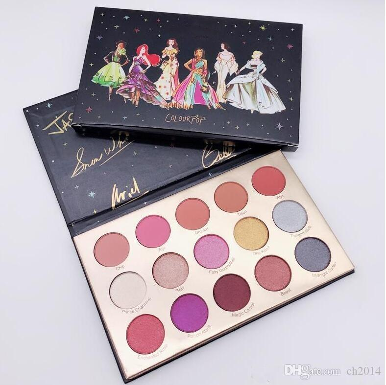 2019 Nova Chegada Marca Maquiagem Paleta ColorPop Colecção de Design 15 Cores Paleta de Sombras Glitte Paleta Brilho Sombra de Sombras