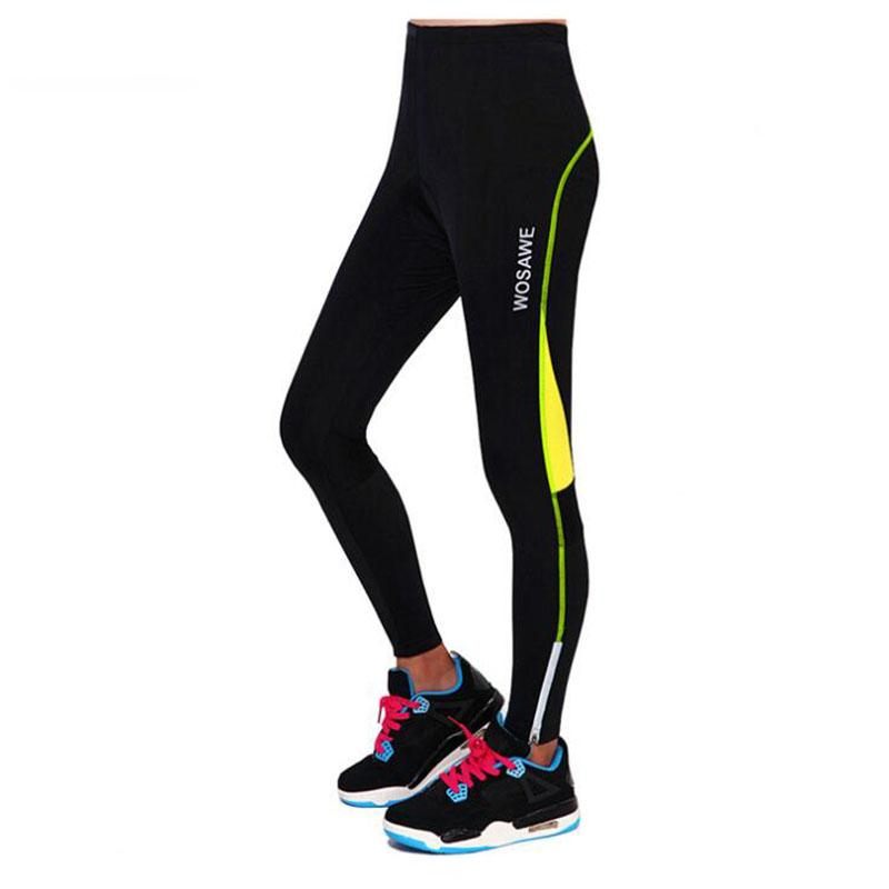 2017 New Summer Women 's Bike Cycling Tights 2 Color Letter 3D GEL Pink Pad Sports Cycling Equipment Breathable Long Pants H137