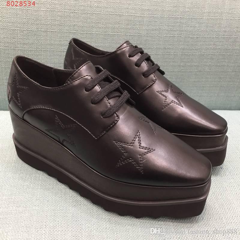 a559c268 Zapatos de mujer de cuero nuevos en la plataforma del mercado zapatos de  tacón alto con ...